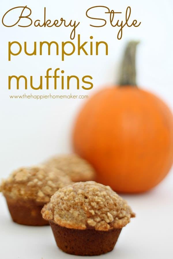 delicoius bakery-style-pumpkin-muffins
