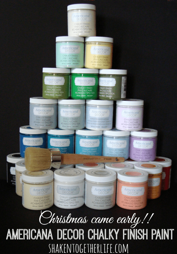 Americana Decor Chalky Finish Paint at shakentogetherlife.com