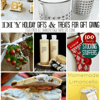 DIY Holiday Gifts & Treats for Gift Giving featured at shakentogetherlife.com