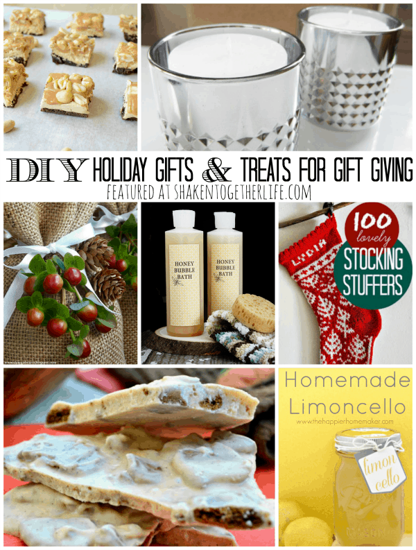 diy holiday gifts treats for gift giving featuring you rh shakentogetherlife com best diy christmas gifts