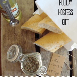 Homemade Italian Dipping Spices & Holiday Hostess Gift Idea