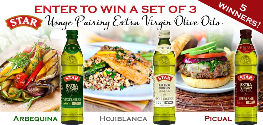 STAR Olive Oil Giveaway #shop