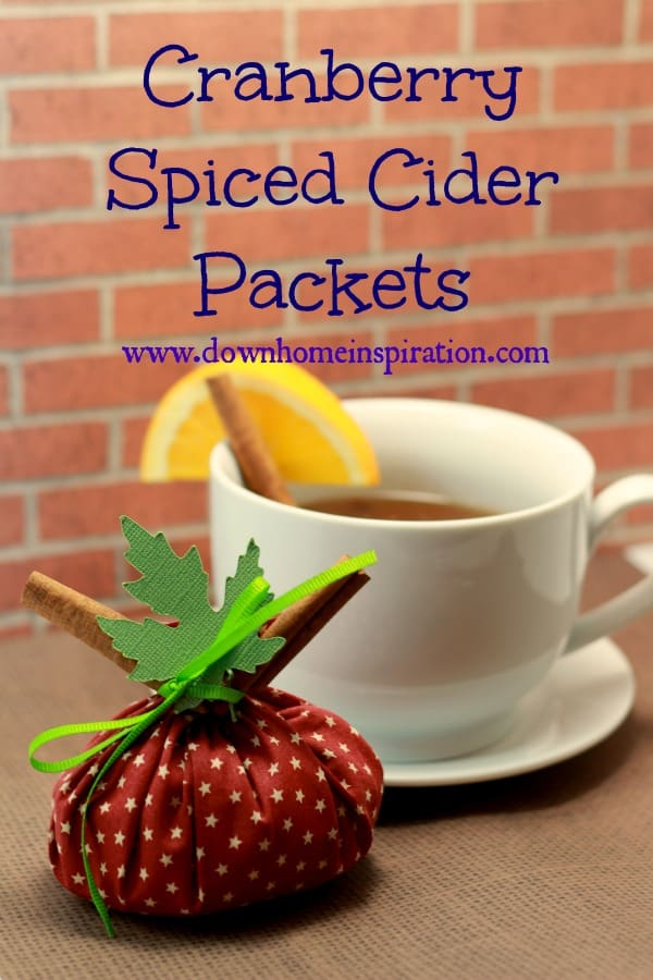 gift cider-packet