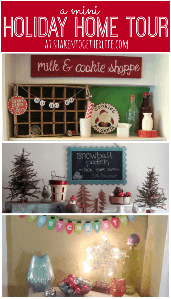 Mini holiday home tour at shakentogetherlife.com