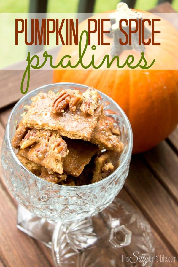 pumpkin pralines