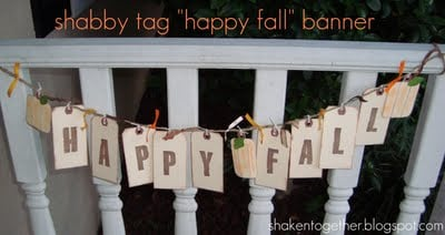Easy Happy Fall banner at shakentogetherlife.com