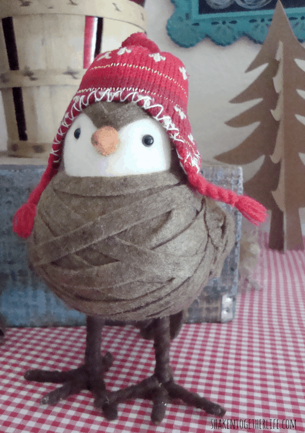Sweet winter bird at shakentogetherlife.com