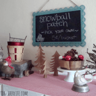 A {Mini} Holiday Home Tour