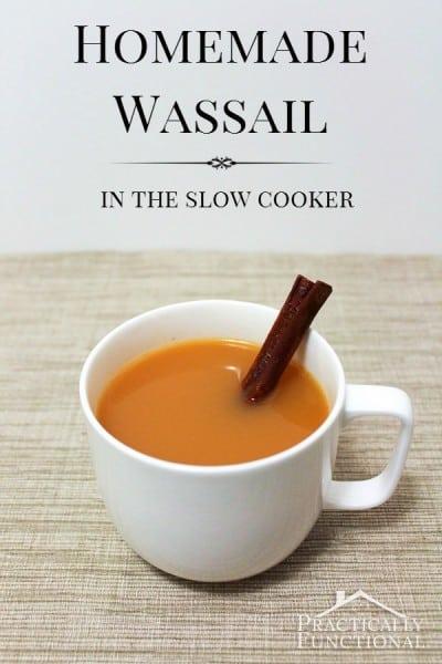 Homemade Wassail
