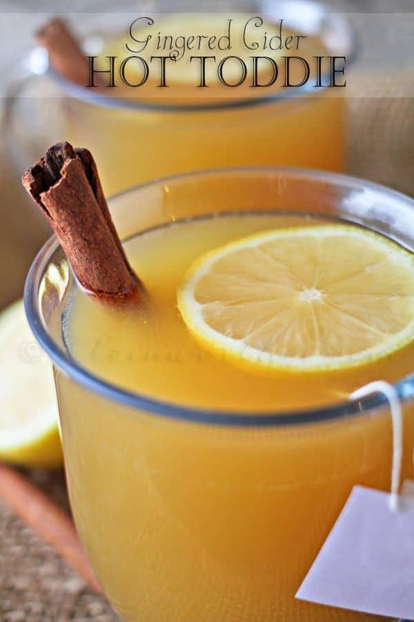 Gingered Cider Hot Toddie