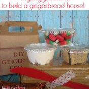 Make a build your own gingerbread house kit at shakentogetherlife.com