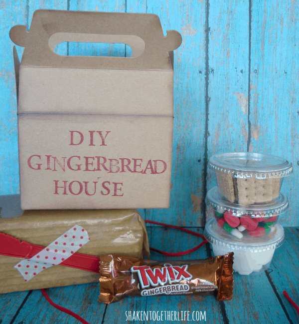 Unleash the sweet fun with a DIY gingerbread house kit at shakentogetherlife.com