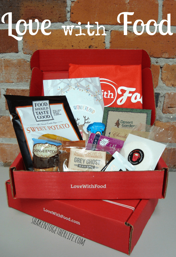 Love with Food monthly subscription boxes - SO cool!