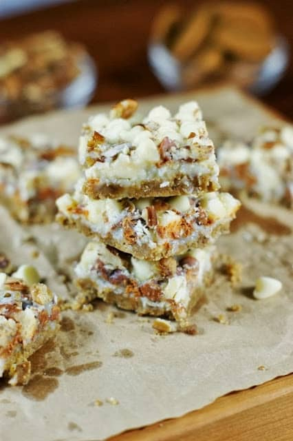 Gingerbread Magic Bars for a Holiday Cookie Exchange