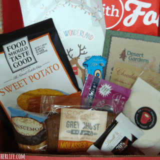What's inside a Love with Food box?
