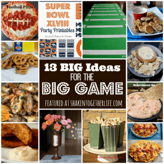 13 BIG ideas for the BIG Game featured at shakentogetherlife.com