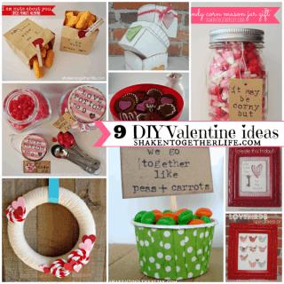 9 DIY Valentine Ideas – Home Decor, Crafts & Gifts