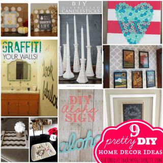 9 pretty DIY home decor ideas