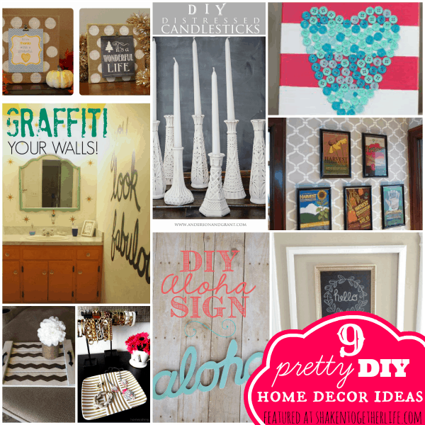 Pinterest Home Decor 2014: Pretty DIY Home Decor Ideas