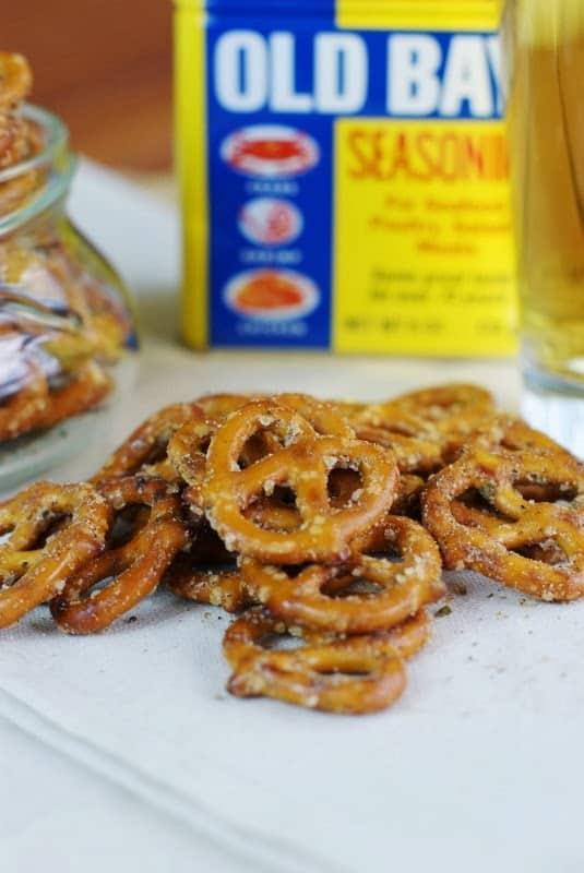Cajun pretzels