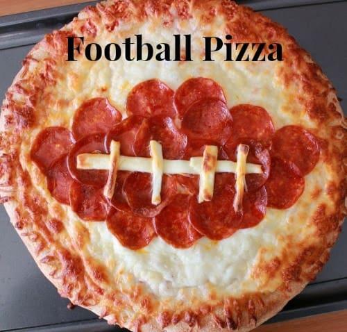 Easy Football Pizza