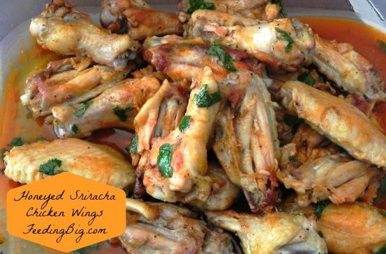 Honeyed-Sriracha-Chicken-Wings