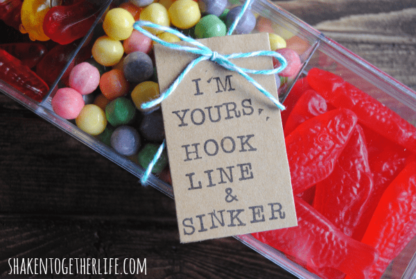 Valentine Candy Tackle Box | Shaken Together Life