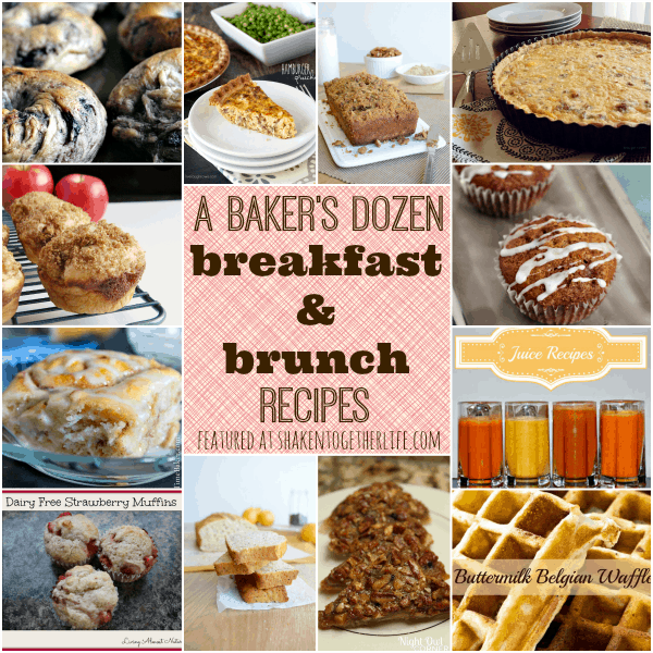 Delicious breakfast and brunch recipe features at shakentogetherlife.com