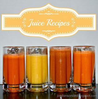 4 juicer recipes