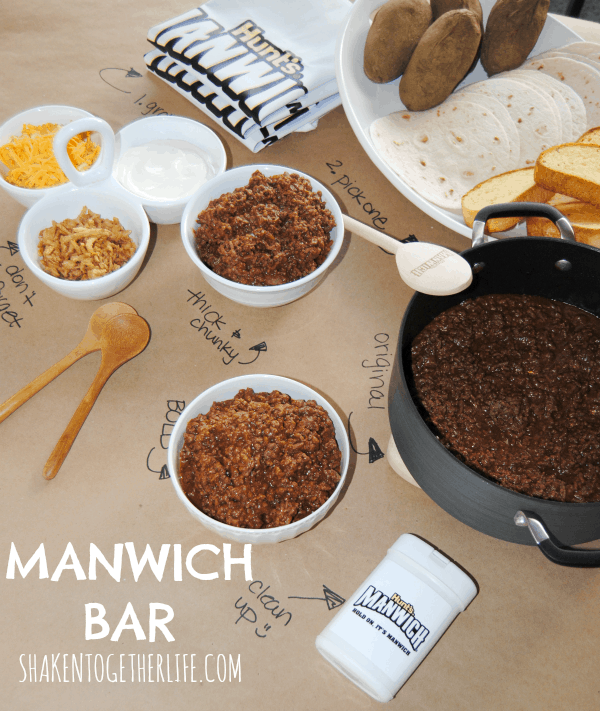 Easy weekend meal idea: Manwich Bar!!