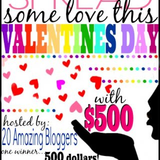Spread the Love $500 Giveaway!