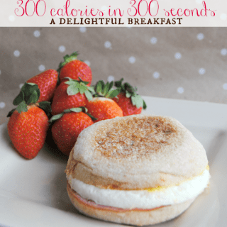 Jimmy Dean Delights + fresh fruit = 300 calorie breakfast in 300 seconds!
