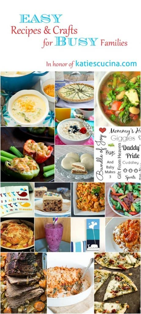 We threw Katie a virtual baby shower! Easy recipes and sweet DIYs!
