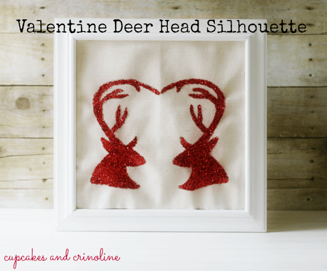 Valentine Deer Art