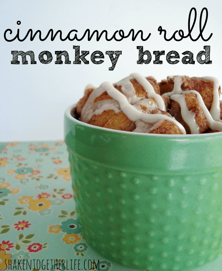 cinnamon roll monkey bread 1