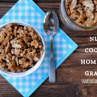 Nutty Coconut Homemade Granola