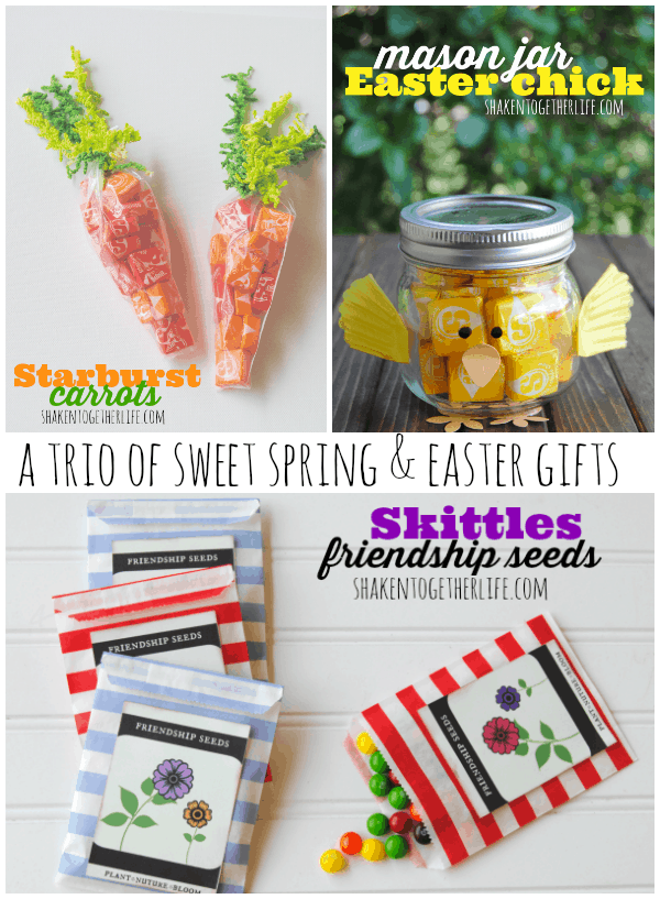 A trio of sweet spring easter gifts and seed packet printable a trio of sweet spring easter gifts negle Image collections
