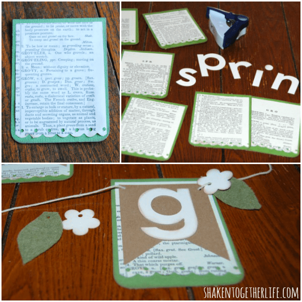 Welcome Spring with a beautiful layered paper Spring banner