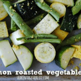 Lemon Roasted Vegetables – Fresh Spring Side Dish