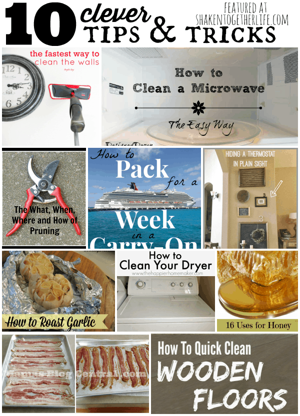 10 must read clever tips and tricks for your home!