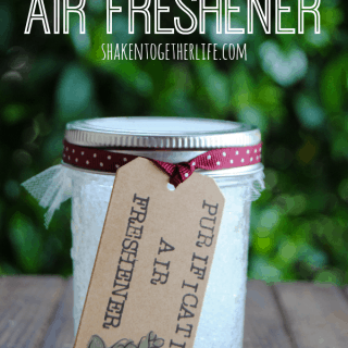 DIY Mason Jar Gel Air Fresheners with Essential Oils