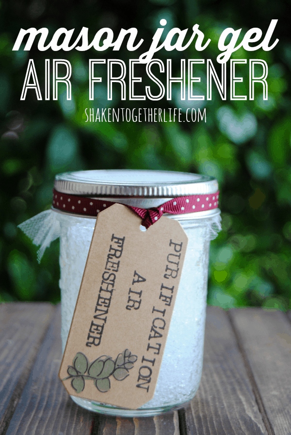 DIY Mason Jar Gel Air Fresheners