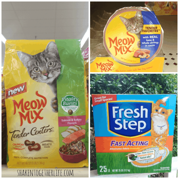 Meow Mix & Fresh Step for our Furry Family!