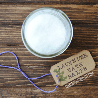 Relaxing Lavender Bath Salts – Only 2 Ingredients!