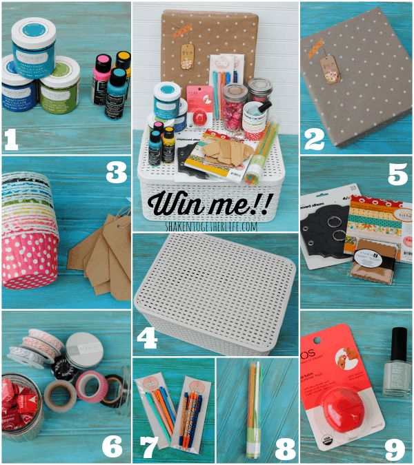 Mothers Day Basket giveaway at Shaken Together!  There are 18 more baskets up for grabs, too!