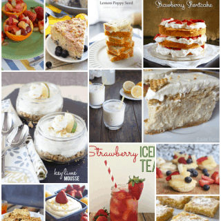 Glorious fruit and citrus desserts - perfect for Spring and Easter!