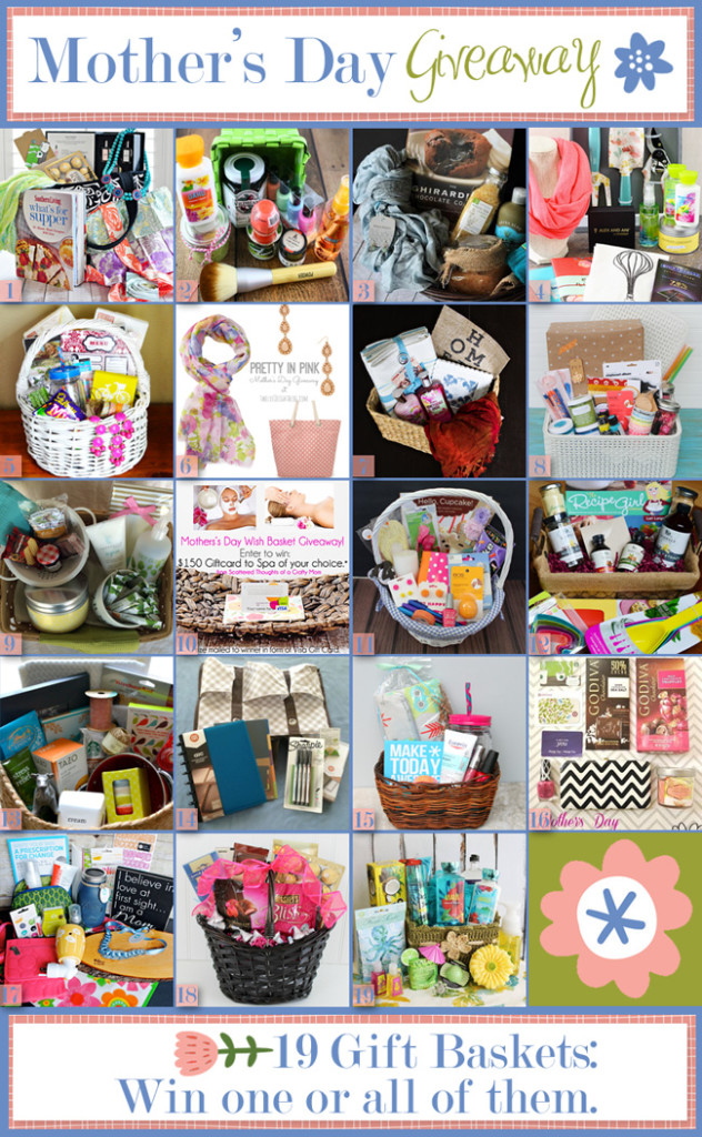HUGE Mothers' Day Gift Basket Giveaway!!