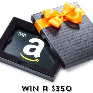 Enter to win a $350 Amazon gift card - just in time for Mothers' Day!