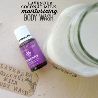 Moisturizing Body Wash with Lavender & Coconut Milk