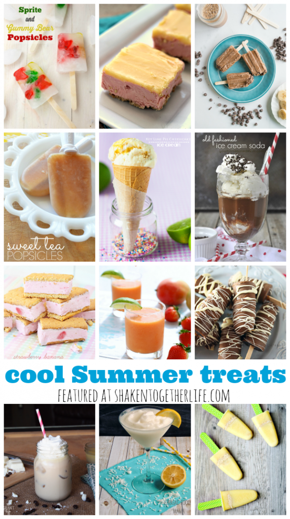12 frosty and frozen cool Summer treats to help you chill out when it heats up!